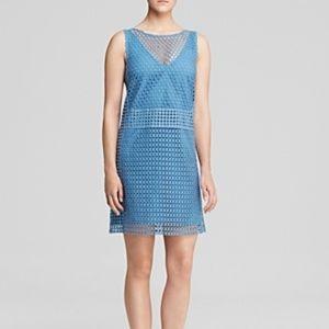 Tory Burch blue Guipure Lace Dress